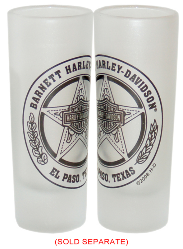Harley-Davidson® Barnett H-D Texas Star Frost Tall Shot Glass