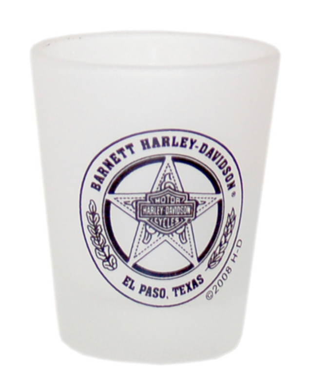 Harley-Davidson® Barnett H-D Texas Star Frost Short Shot Glass