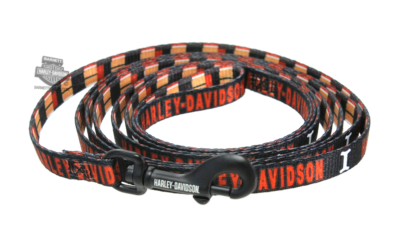 Harley-Davidson® Block Plaid H-D Name Sublimated 3/8
