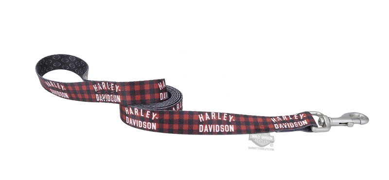 Harley-Davidson® Muscle Dog Plaid with Grey B&S 1