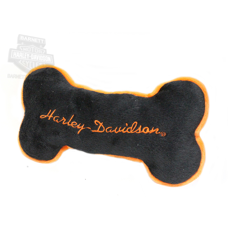 Harley-Davidson® Pet Plush Toy Bone