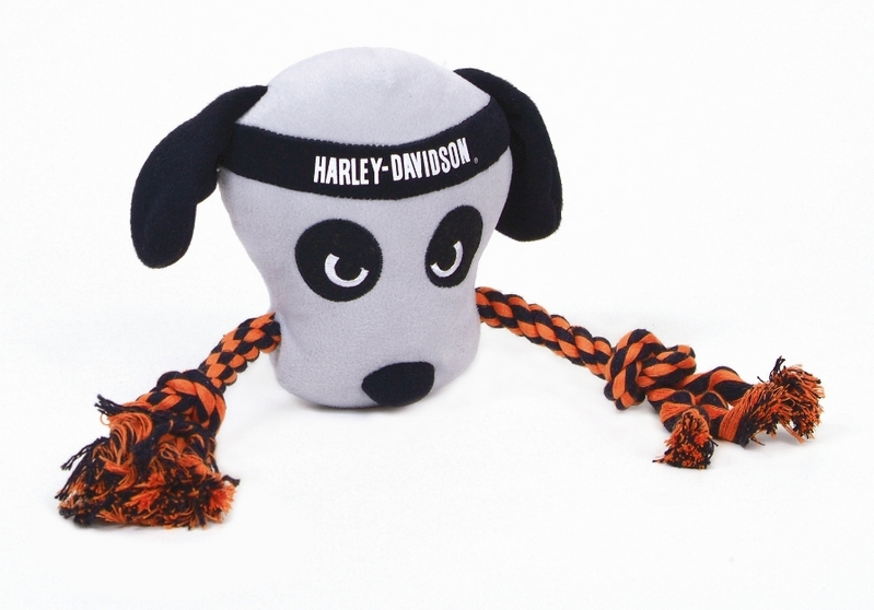 Harley-Davidson® Pet Plush Toy Dog Rope Tug