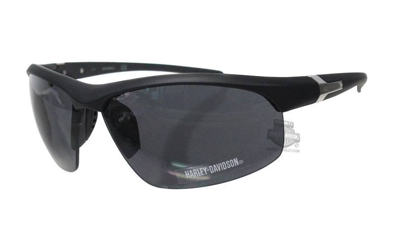 dc3e346e2713 Harley-Davidson® HD0127V02A Matte Black Frame Smoke Lens Sunglasses by  Marcolin Eyewear Sunglasses