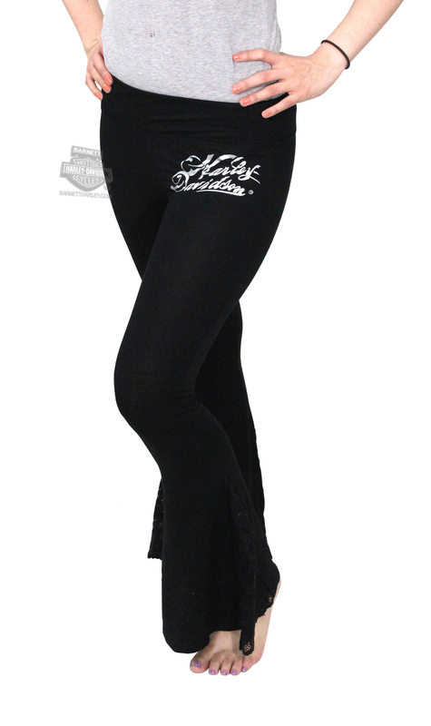 fcca93c11b BIG SIZES ONLY ** Harley-Davidson® Womens Script H-D Bell Bottom