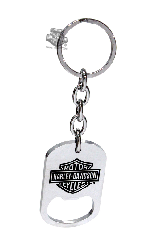 Harley-Davidson® Bottle Opener Black B&S
