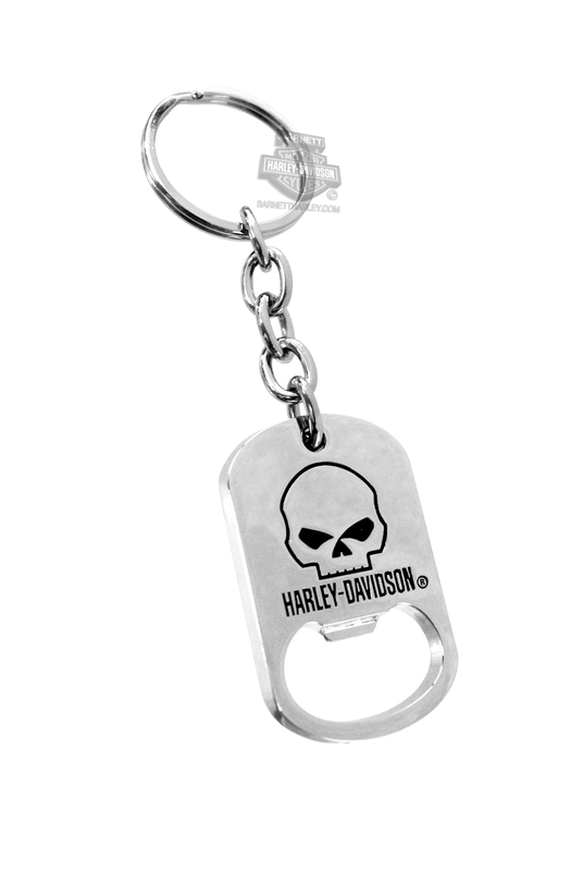 Harley-Davidson® Key Chain Skull Bottle Opener
