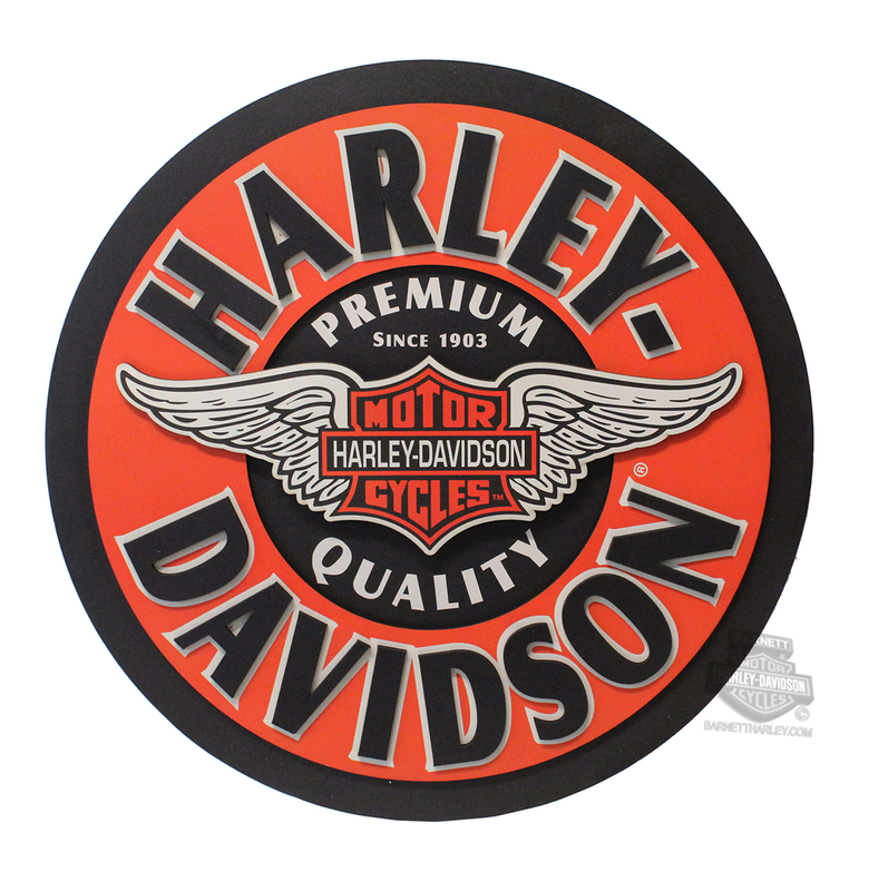 Harley-Davidson® Winged Bar & Shield Pub Sign