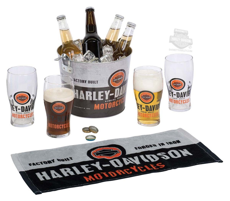Harley-Davidson® Forged In Iron Party Bucket Set