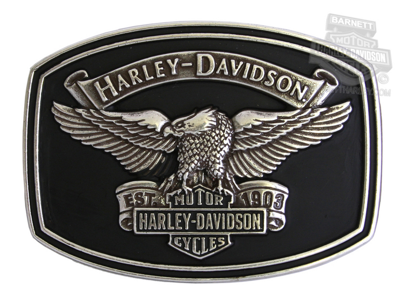 Harley-Davidson® Mens Endurance Upwing Eagle with Trademark B&S Buckle by LODIS