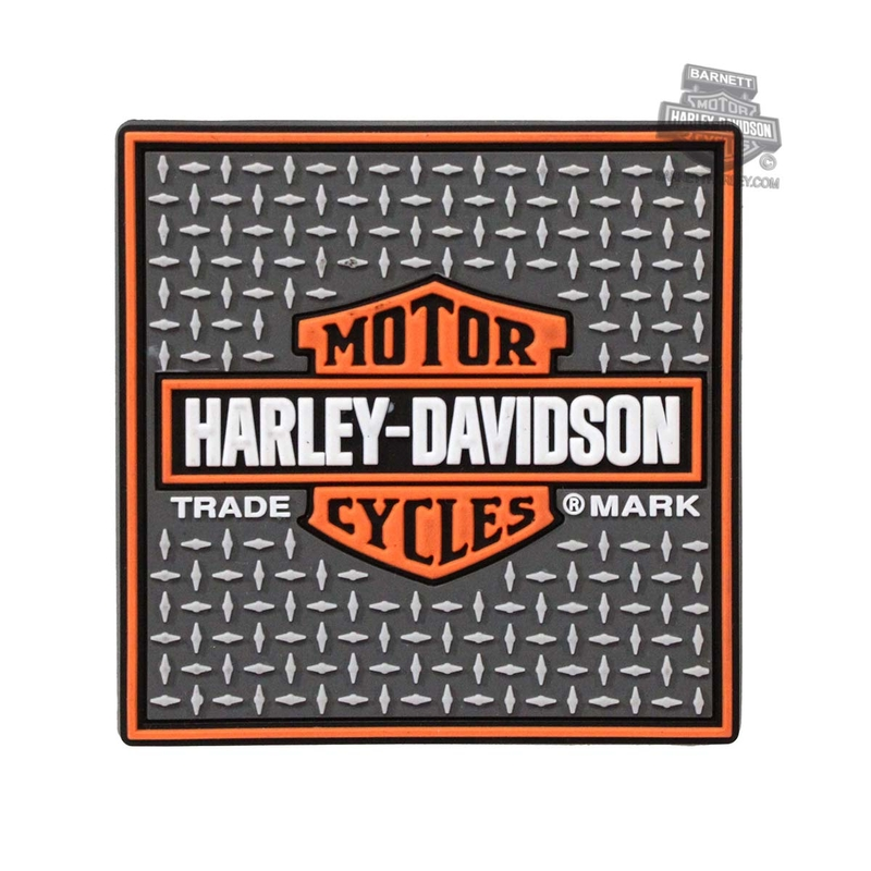Harley-Davidson® Trademark B&S Diamond Plated 2.5