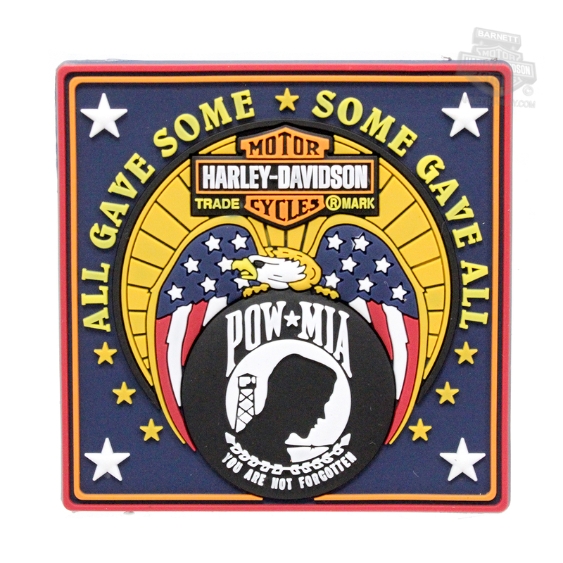 Harley-Davidson® POW MIA Eagle with Trademark B&S 2.5
