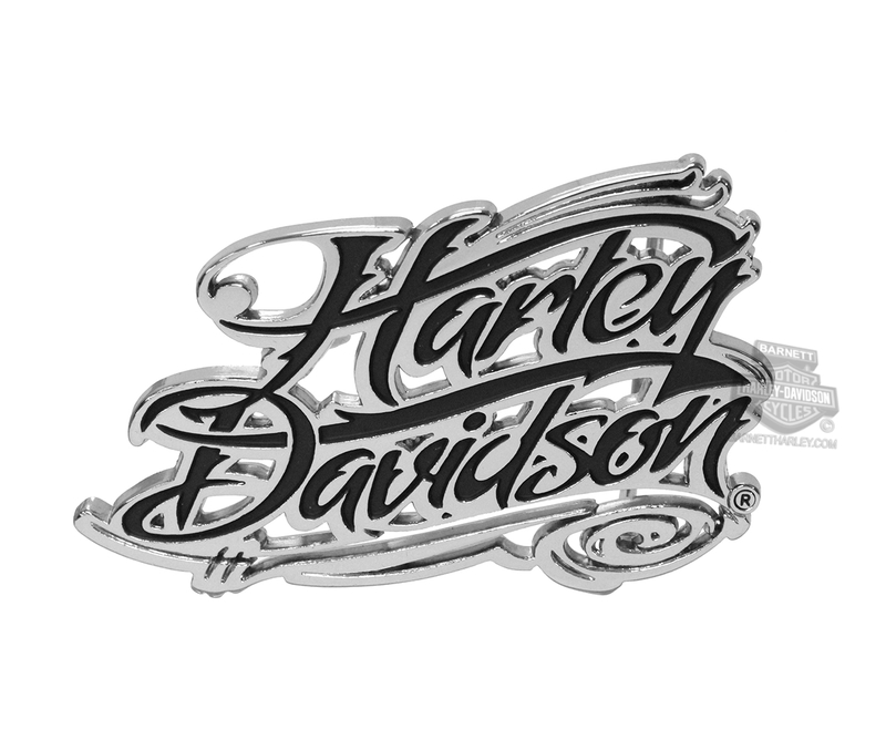Harley-Davidson® Womens Signature Script H-D Name Buckle by LODIS *18HR*