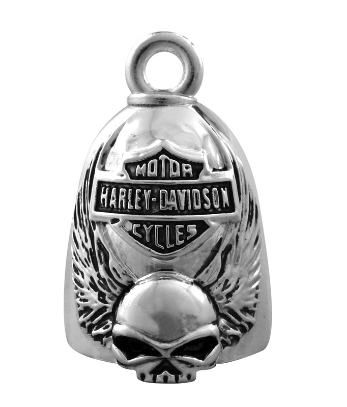 Harley-Davidson® Skull with Wings Ride Bell