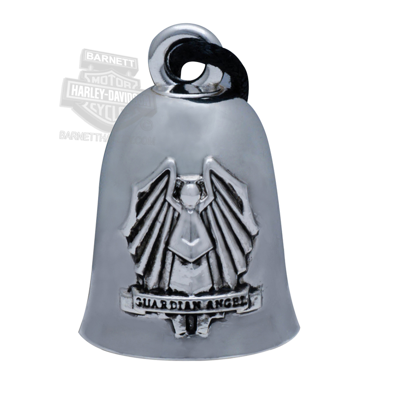 Harley-Davidson® .925 Silver Guardian Angel Ride Bell by Mod Jewelry®