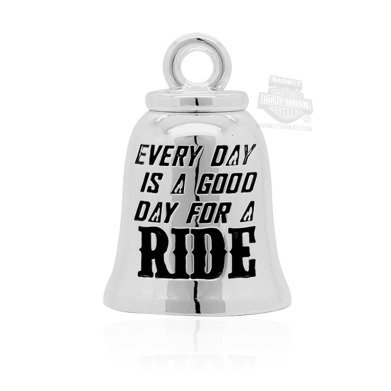 Harley-Davidson® Mens Good Day For a Ride Ride Bell by Mod Jewelry®