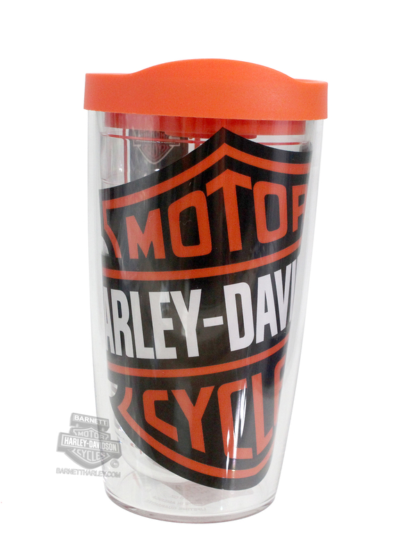 Harley-Davidson® Colossal Bar & Shield Logo Wrap 16oz Tervis Tumbler