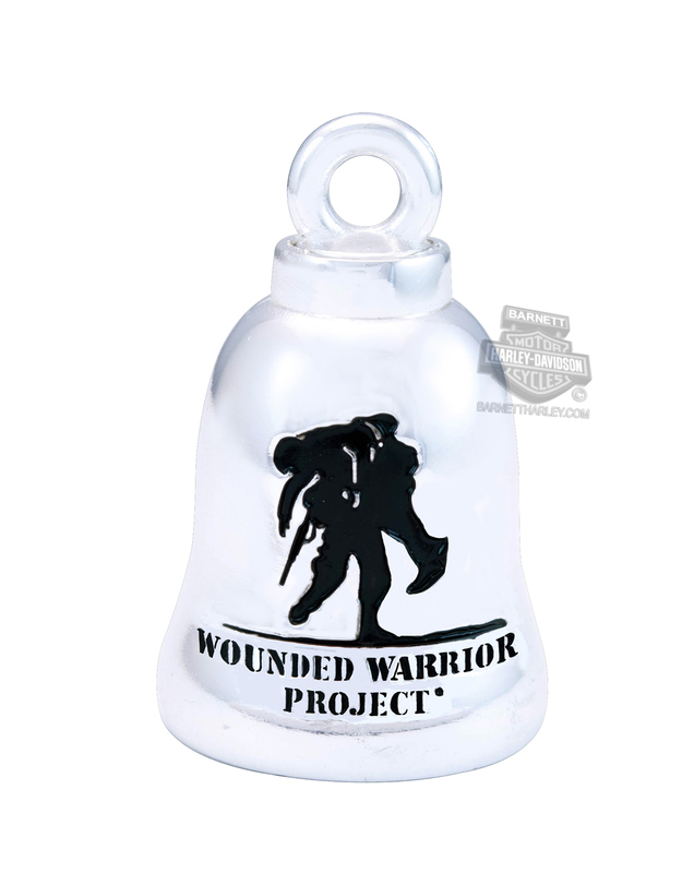 Harley-Davidson® Mens .925 Silver Wounded Warrior Project Ride Bell by Mod Jewelry®