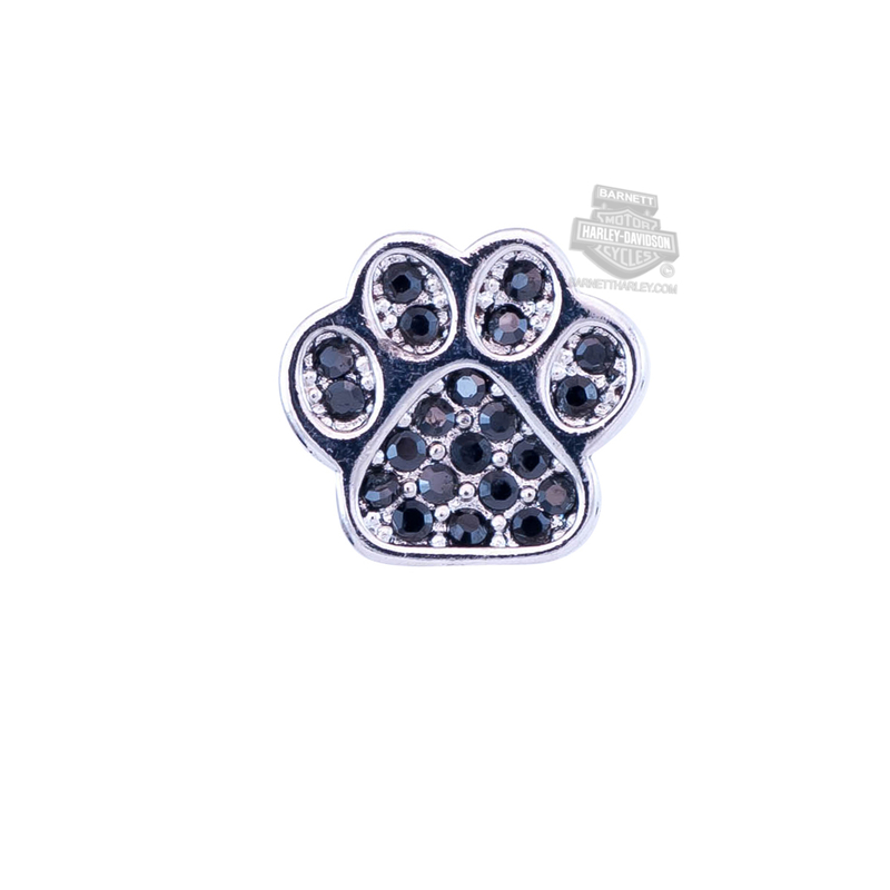 ** 2 for $10 ** Harley-Davidson® Womens Stainless Steel Bling Paw Locket Charm by Mod Jewelry®