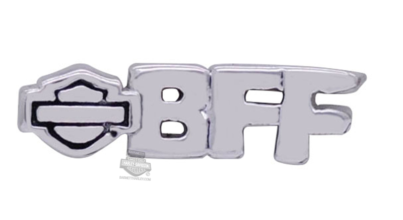 ** 2 for $10 ** Harley-Davidson® Womens Stainless Steel BFF Best Friends Locket Charm by Mod Jewelry®