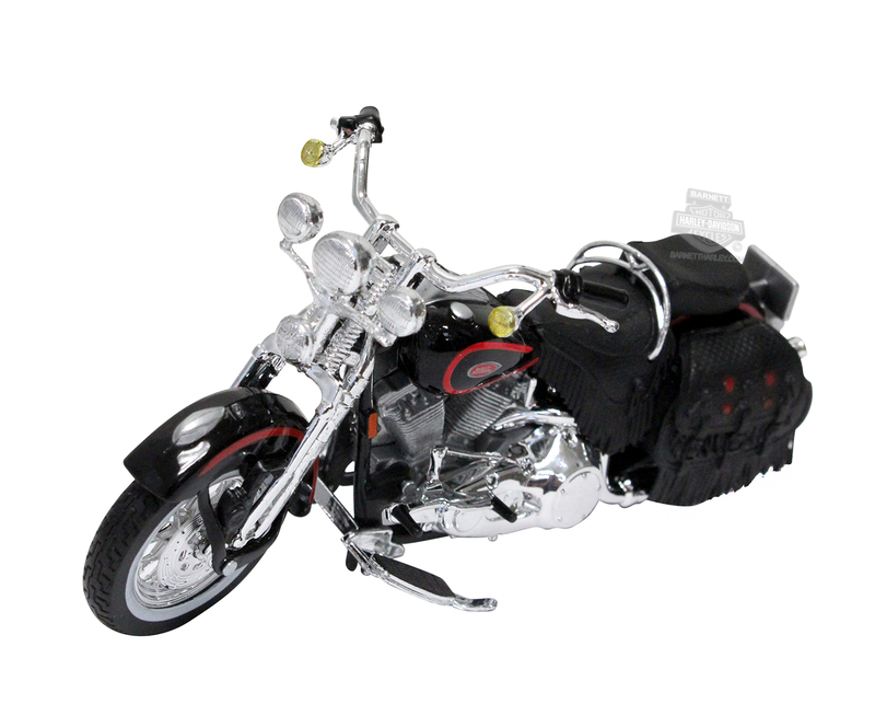 Harley-Davidson® 1998 FLSTS Heritage Springer™ 1:18 Scale Model Ser 31 Black