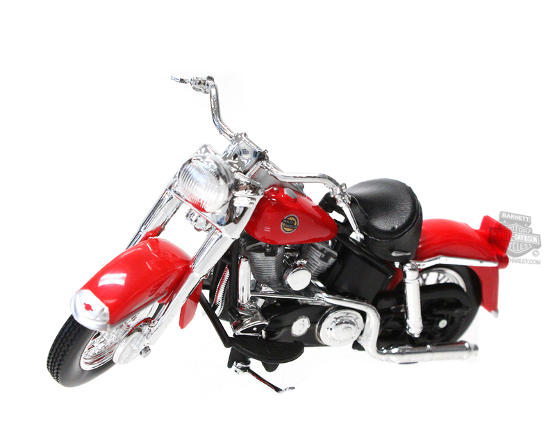 Harley-Davidson® 1958 FLH Duo Glide Ser 33 Red Model 1:18 Scale