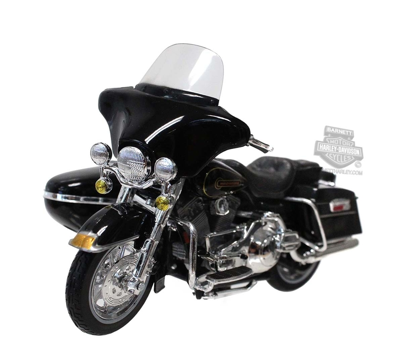 Harley-Davidson® 1998 FLHT Electra Glide® Standard Side-Car™ Black 1:18 Scale Model 1:18 Scale