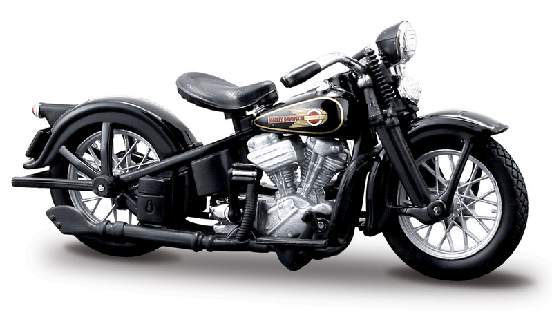 Harley-Davidson® 1936 El Knucklehead™ 1:24 Scale Model Ser 11.1 Black
