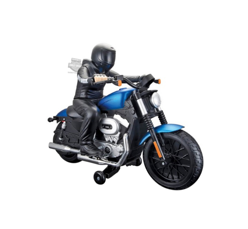 Harley-Davidson® Black and Blue 2007 XL 1200N Nightster® Radio Control Radio Controlled Motorcycle