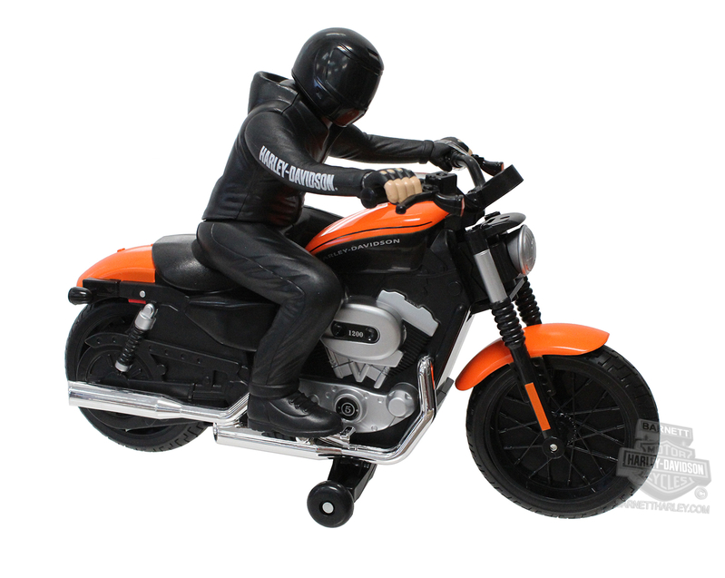 Harley-Davidson® Black and Orange 2007 XL 1200N Nightster® Radio Control Black Motorcycle