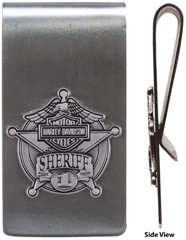 Harley-Davidson® Sheriff Original 3D Money Clip
