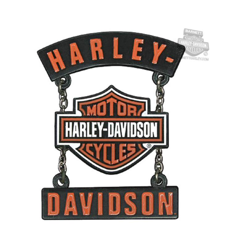 Harley-Davidson® H-D B&S Rockers with Chains Pin
