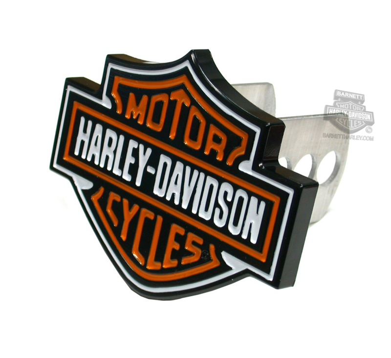 Harley-Davidson® Hitch Cover B&S Full Color