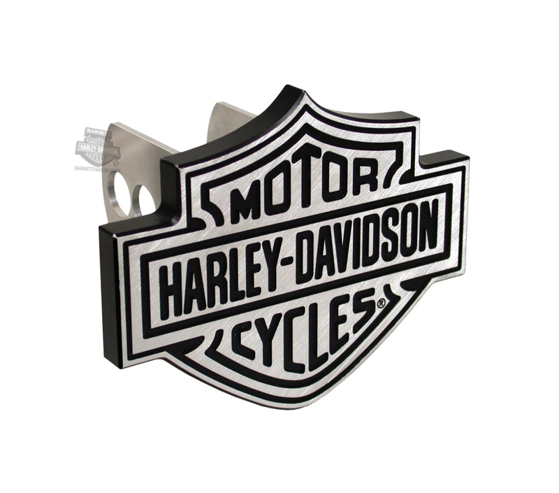 Harley-Davidson® Hitch Cover B&S Brushed