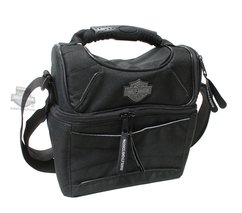 Harley-Davidson® H-D B&S Logo Black Lunch Tote
