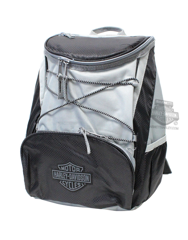 Harley-Davidson® B&S Logo PTX Insulated Cooler Black Backpack