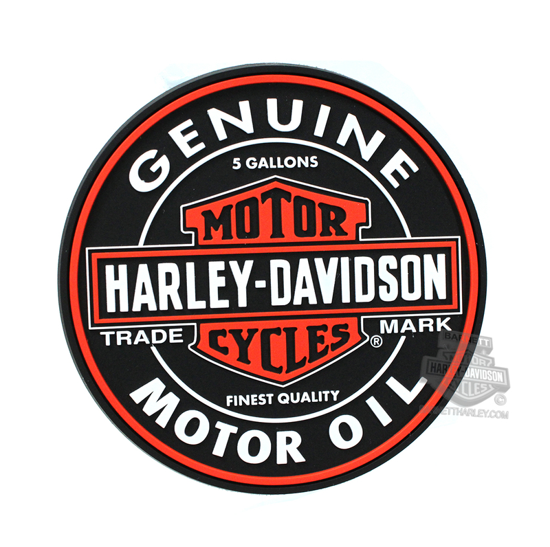 Harley-Davidson® Oil Can Trademark B&S Coaster Set