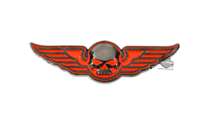 Harley-Davidson® Willie G Skull Wings Pin
