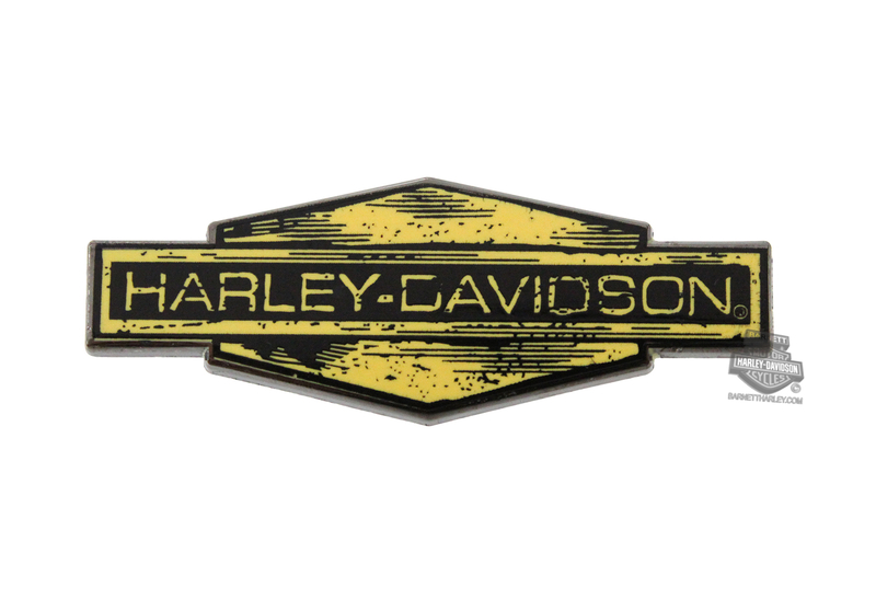 ** 2 for $5 ** Harley-Davidson® H-D Yellow Emblem Pin