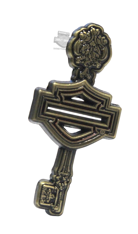 Harley-Davidson® Womens Key with B&S Pin