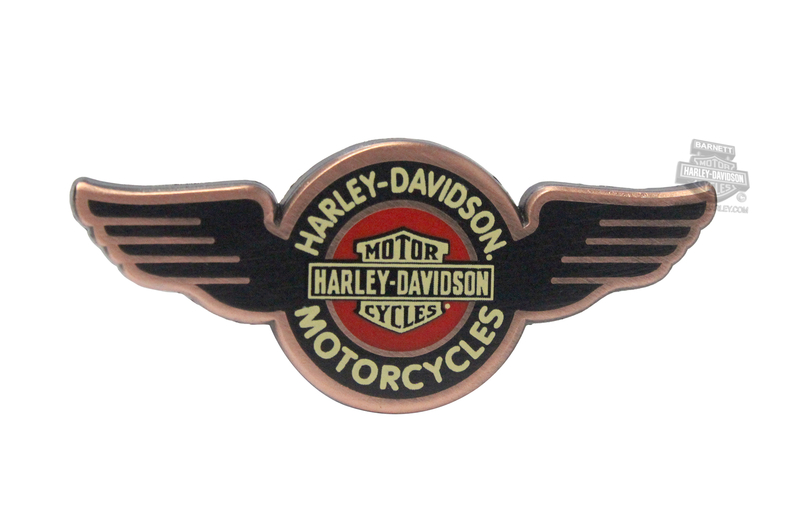 Harley-Davidson® Womens Vintage Wings with Trademark B&S Pin