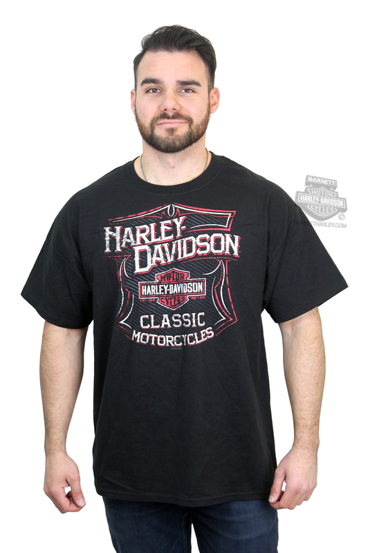 e1ead922 BIG SIZES ONLY ** Harley-Davidson® Mens Classic Stripes Trademark B&S