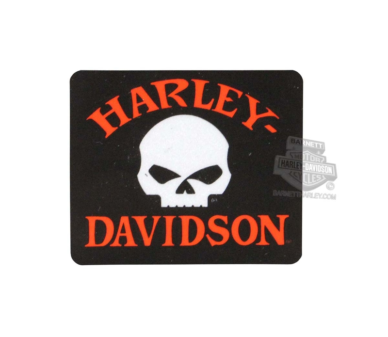 Harley-Davidson® Willie G Skull Reflective X-Small Decal