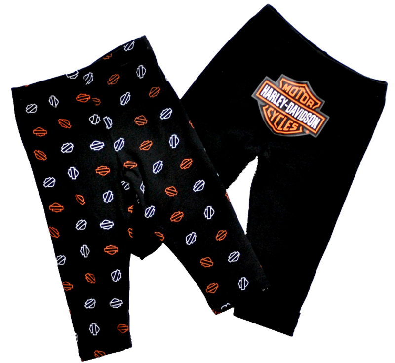Harley-Davidson® Boys Baby Twin Pack Pants Black