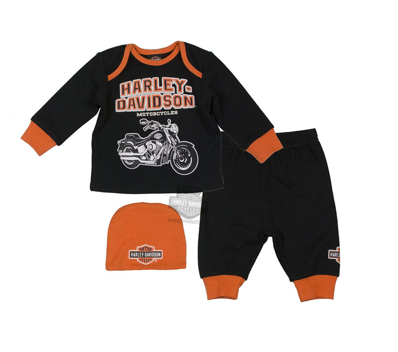 Harley Davidson Baby Clothes Extraordinary Barnett Harley Davidson Kids Baby Outfits