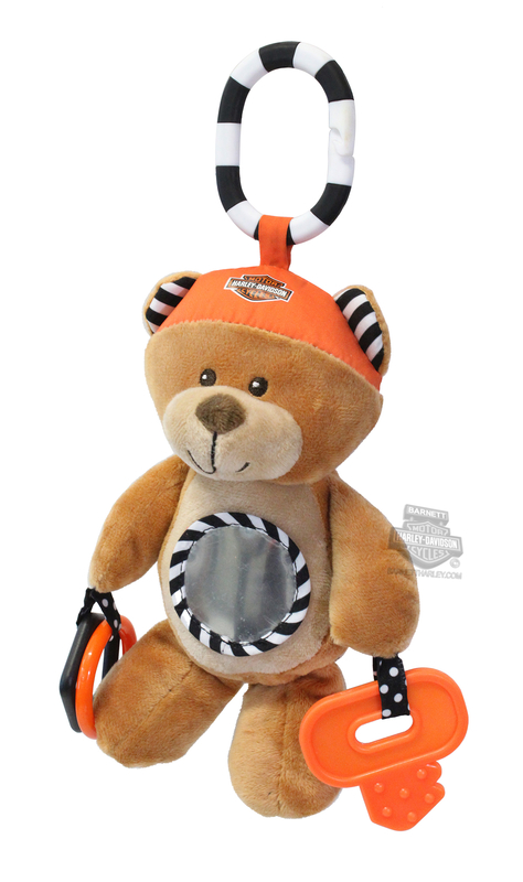 Harley-Davidson® Boys Baby Honey Bear 9
