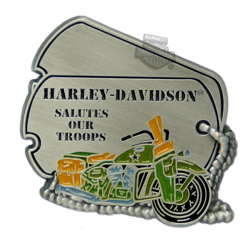 Harley-Davidson® Support Our Troops Pin