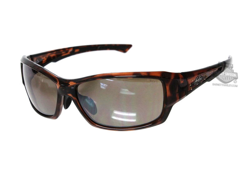 ac8159573130 Harley-Davidson® HD Lace Silver Flash Copper Lens in a Gloss Demi with  Stones