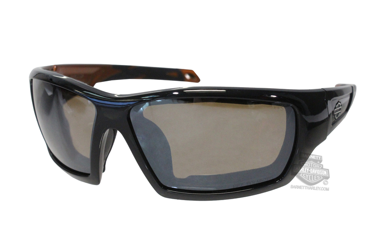 Harley-Davidson® Backbone PPZ Silver Flash Copper Lens Sunglasses or Goggle by Wiley X®