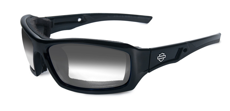 Harley-Davidson® HD Echo LA Light Adjust Smoke Grey Lenses in a Gloss Black Frame Sunglasses by Wiley X®