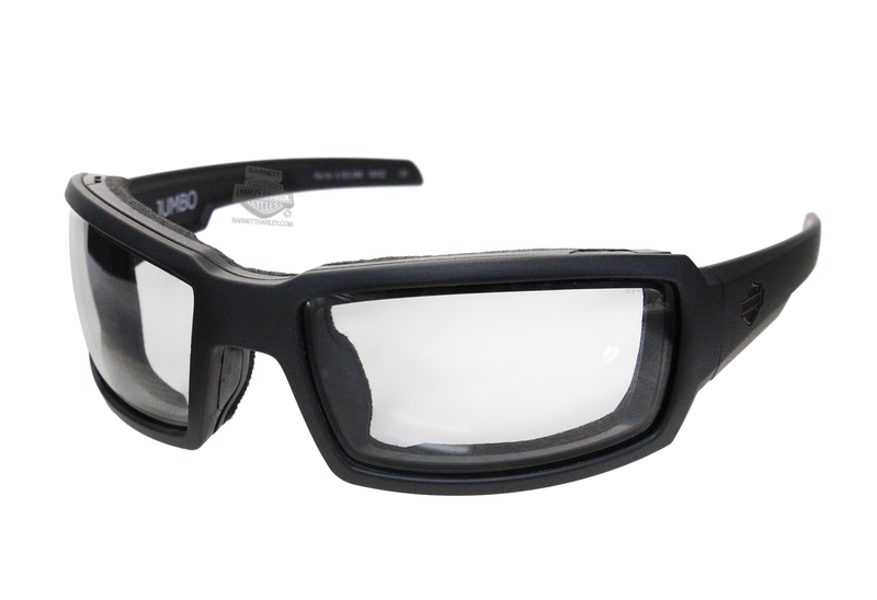 9c579c1c026a Harley-Davidson® HD Jumbo LA Light Adjust Smoke Grey Lens in a Matte Black